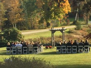 Wedding on the Lawn