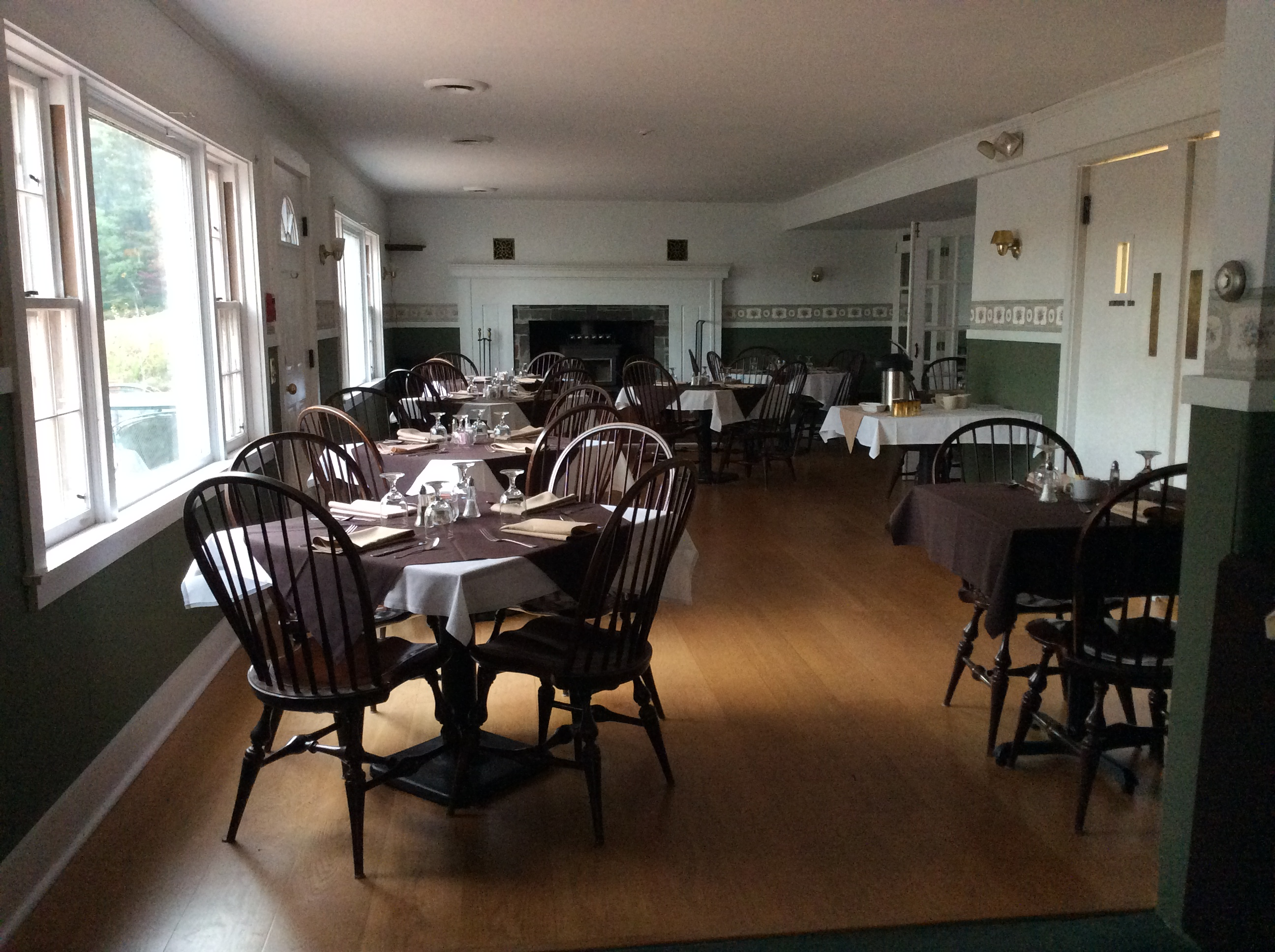 Colonel Williams' dining room