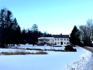 Vermont B&B in winter